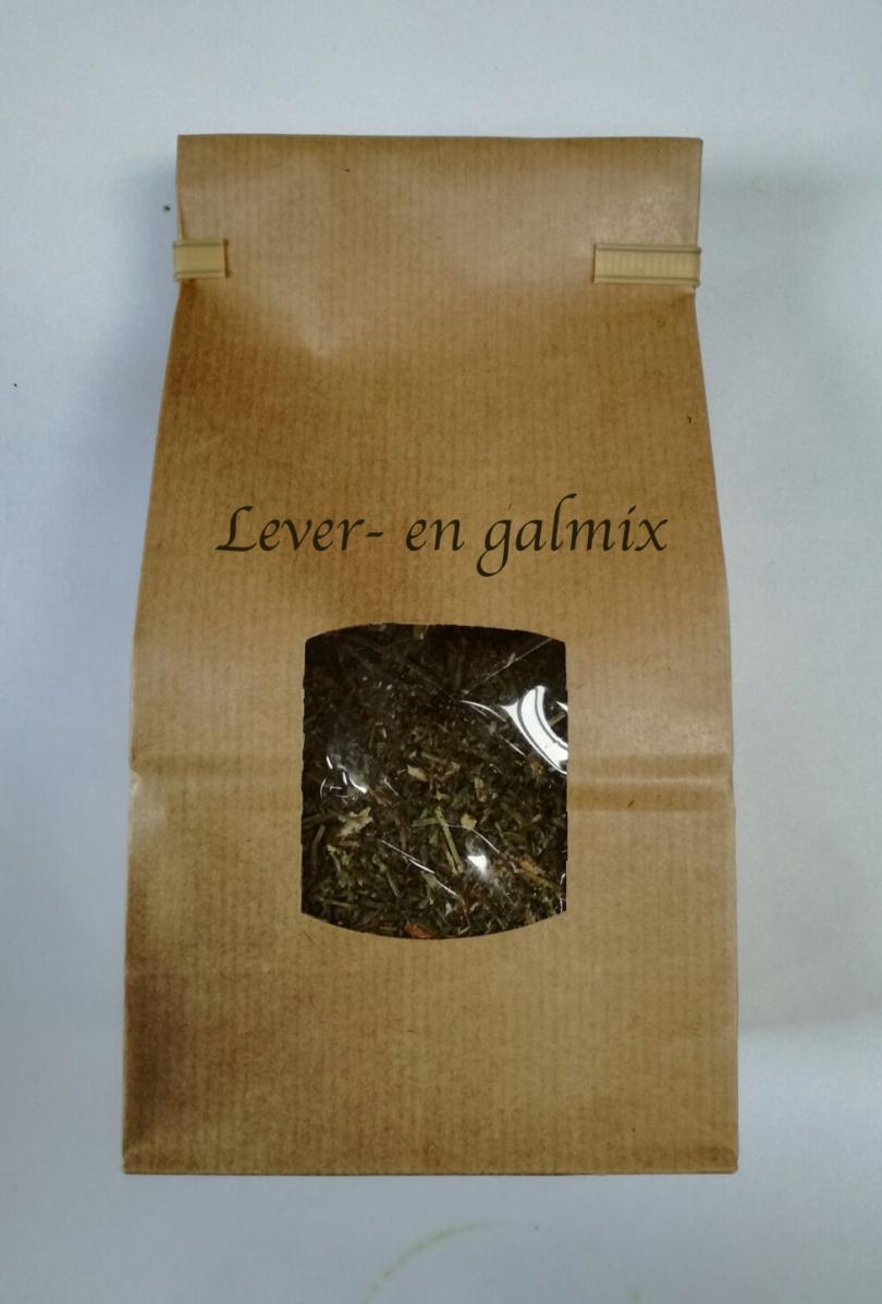 lever- en gal thee