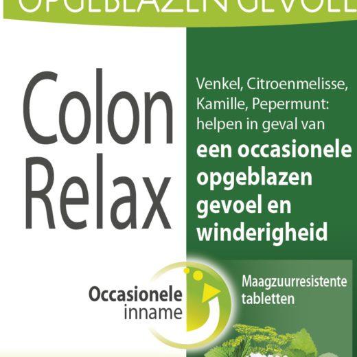 Colon Relax en cas de ballonnements occasionnels et flatulences