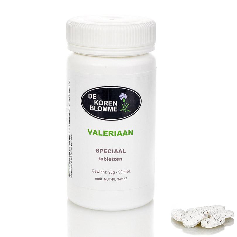 Valeriaan De Korenblomme - 90 tabletten -