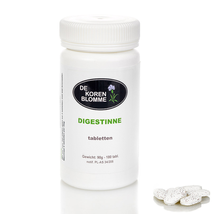 Digestine De Korenblomme - 180 tabletten - Opgeblazen gevoel