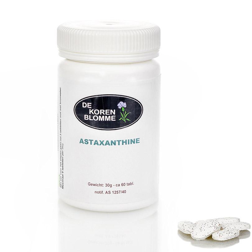 Astaxantine De Korenblomme - 60 tabletten -