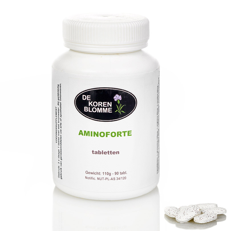 Aminoforte De Korenblomme - 90 tabletten -