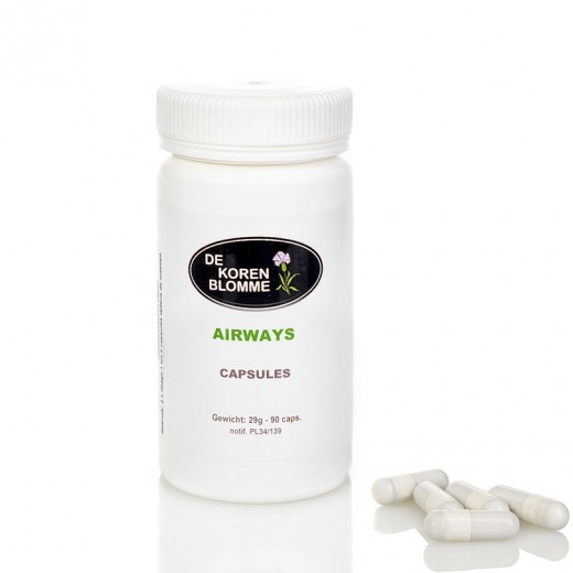Airways De Korenblomme - Pot 90 capsules -