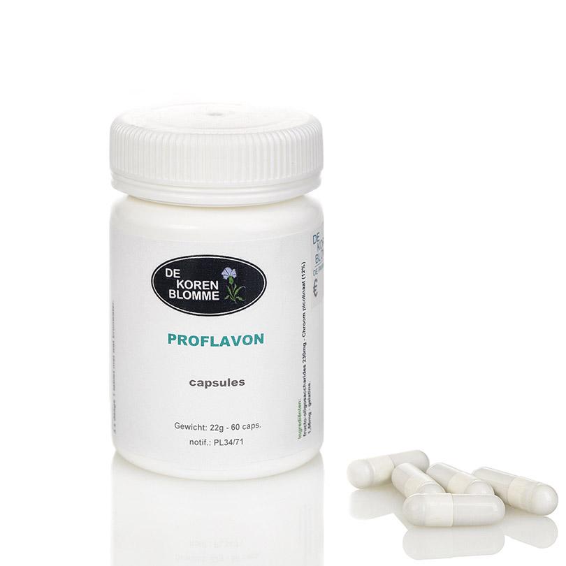 Proflavon De Korenblomme - 60 capsules -