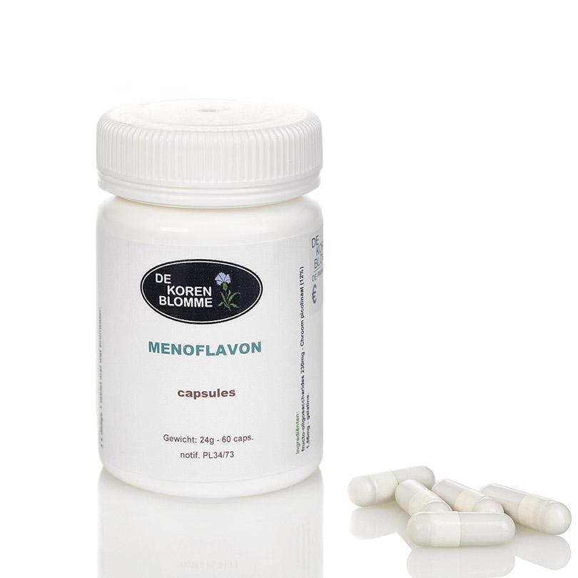 Menoflavon De Korenblomme - 60 capsules -
