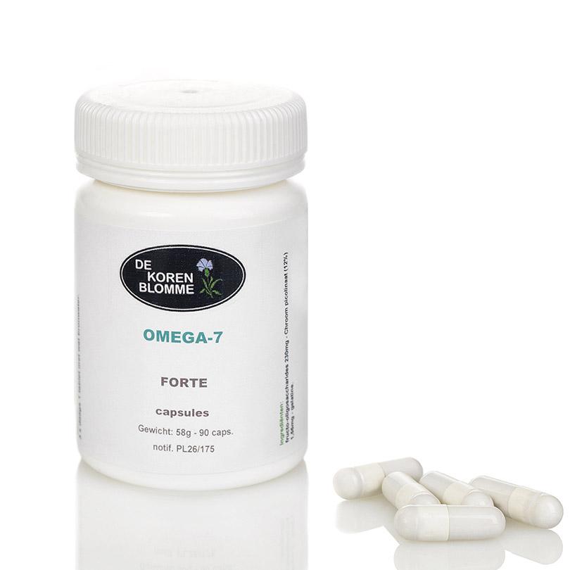Omega-7 De Korenblomme - 90 capsules -