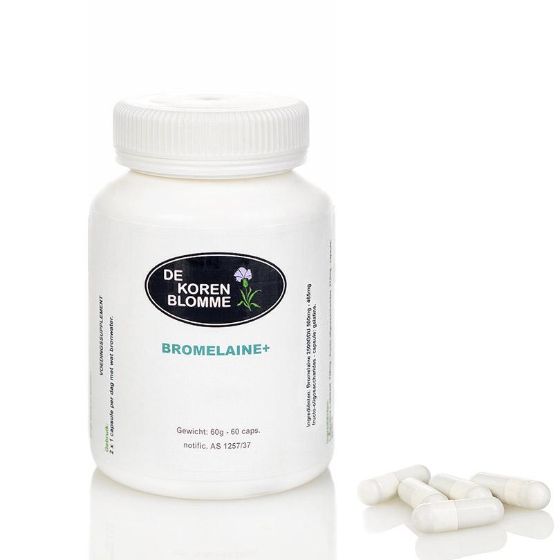 Bromelaine De Korenblomme - 60 capsules -