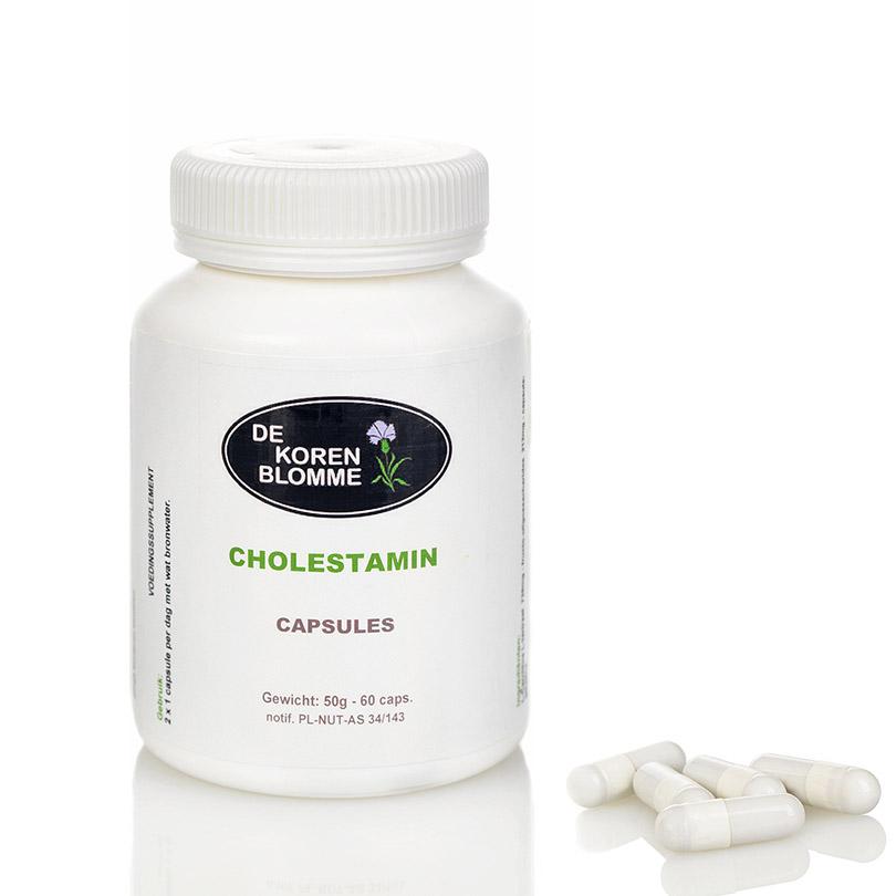 Cholestamin De Korenblomme - 60 capsules -