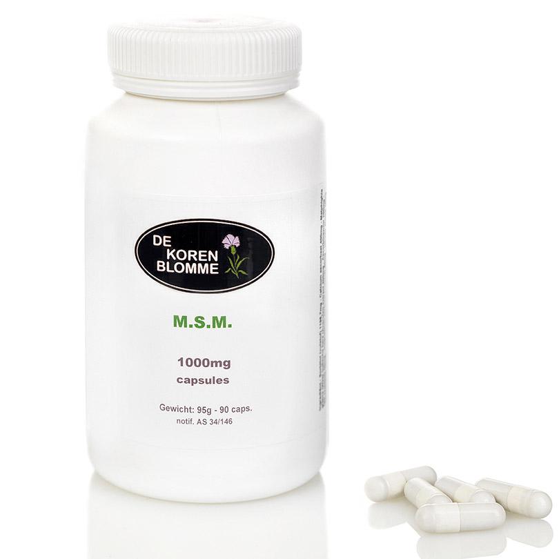 M.S.M. De Korenblomme - 90 capsules -