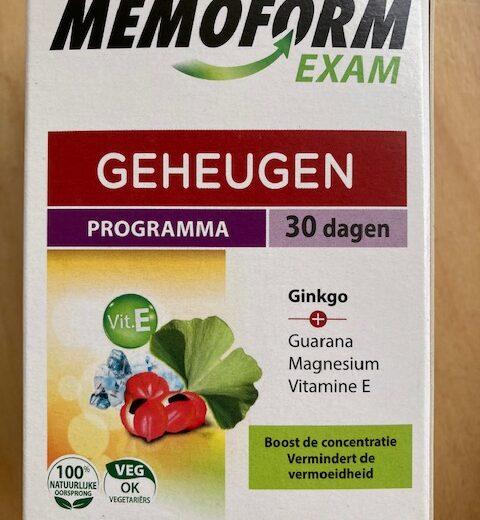 Memoform exam
