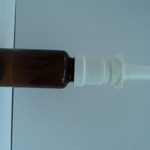 bouteille spray pour le nez