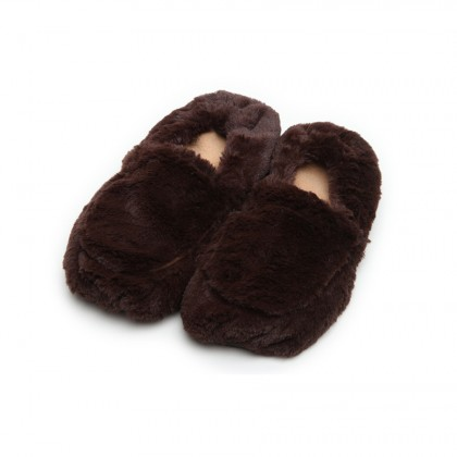 slippers brown