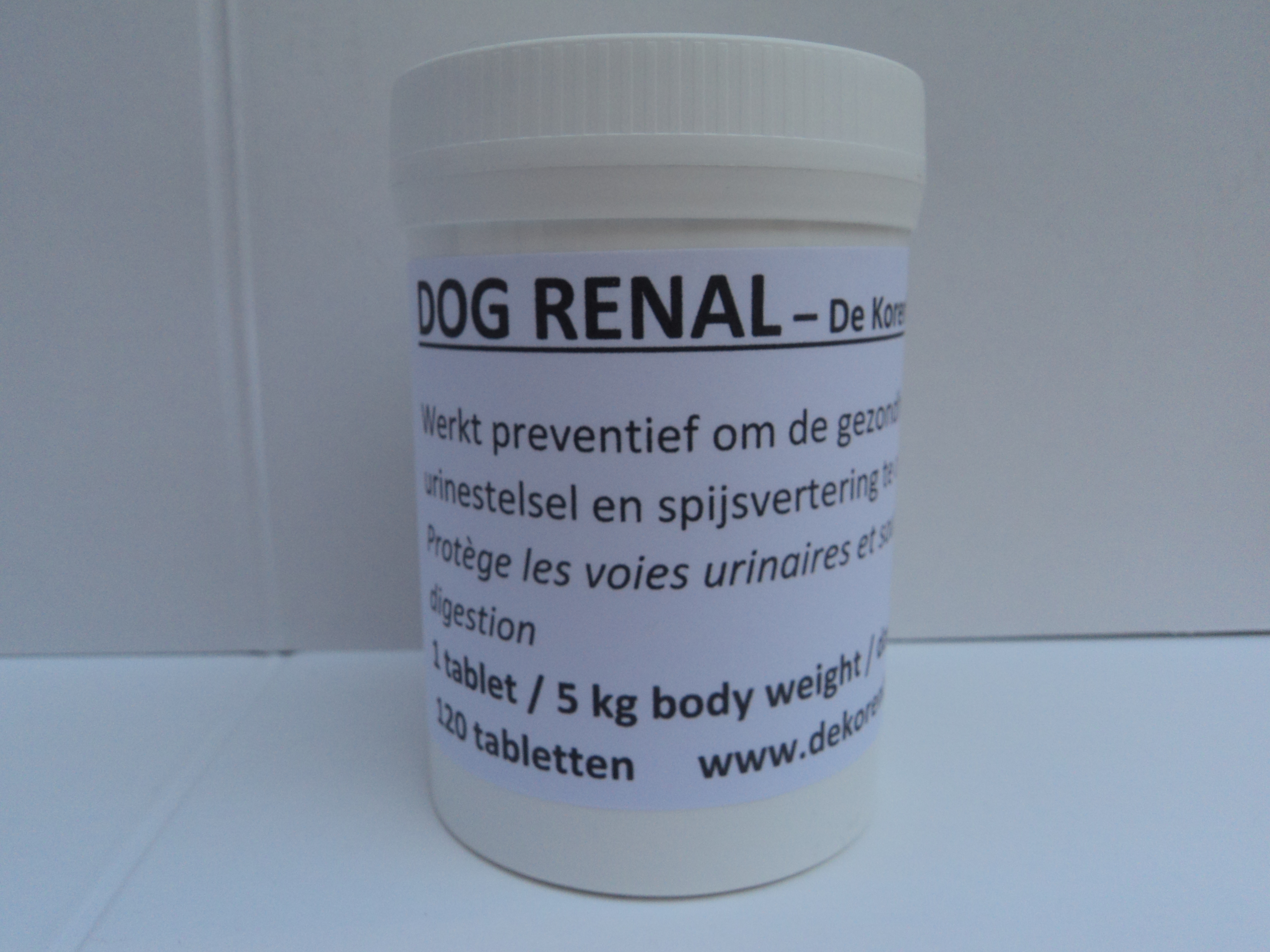 Dog renal-de korenblomme