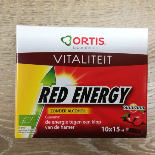 red energy zonder alcohol