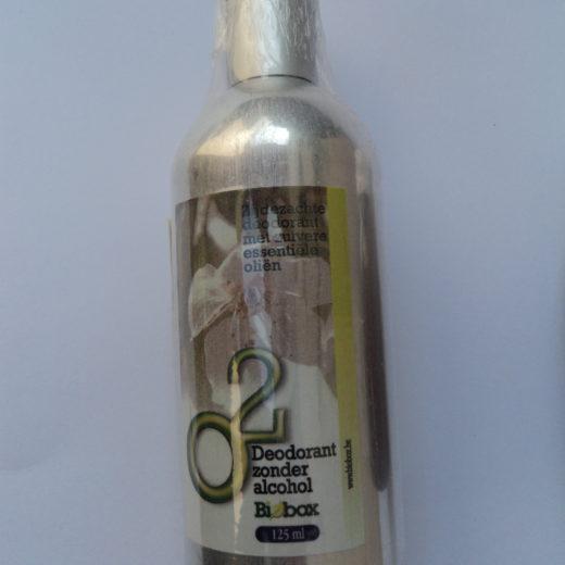 deodorant sans alcool, parfum très subtile
