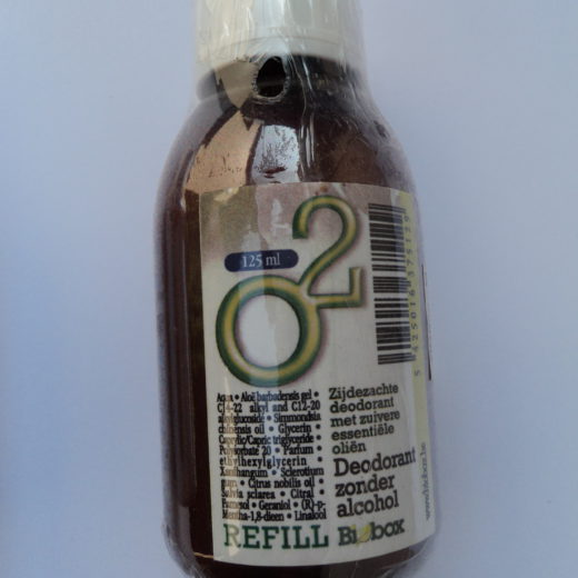 Deodorant O2 sans alcool - recharge