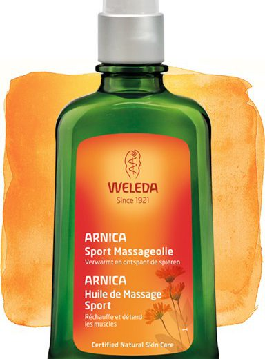 arnica massageolie, 200 ml