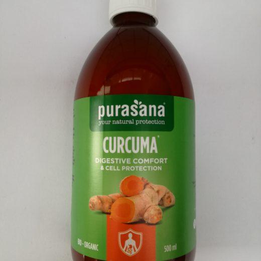 Curcuma liquid digest
