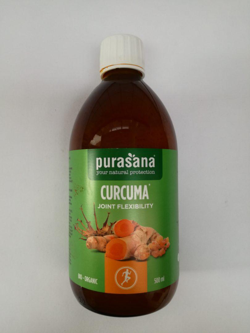 Curcuma liquid flexibility