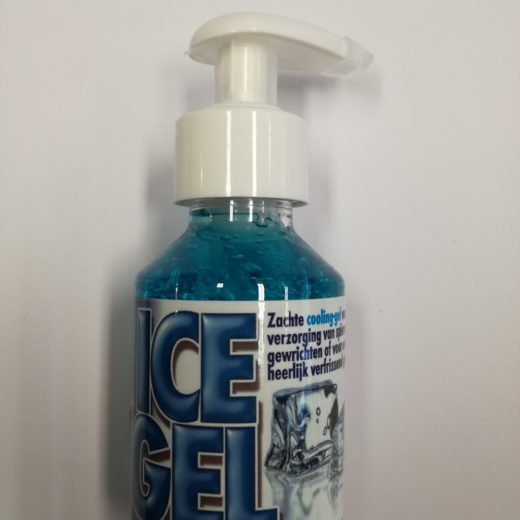 Ice gel of cooling gel 100 ml