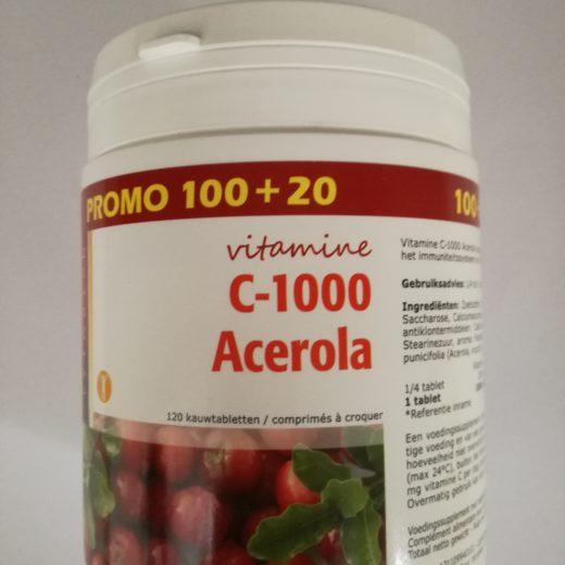 Vitamine C-1000 acerola