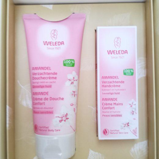 Cadeau amande produits cosmetique