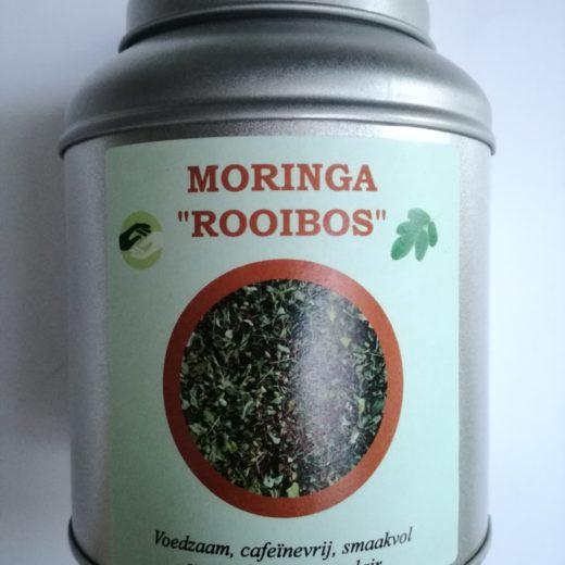 Moringa-rooibos infusion