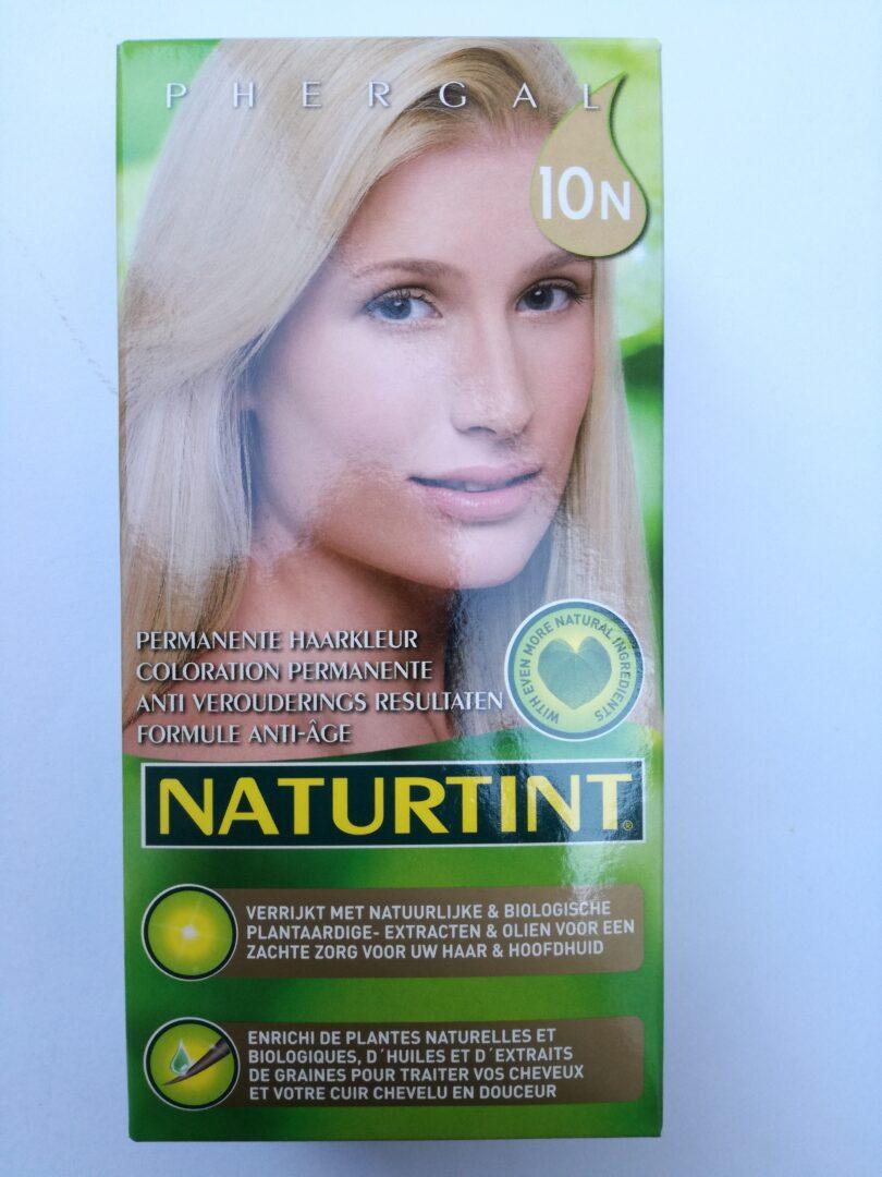 Haarkleuring blond 10N