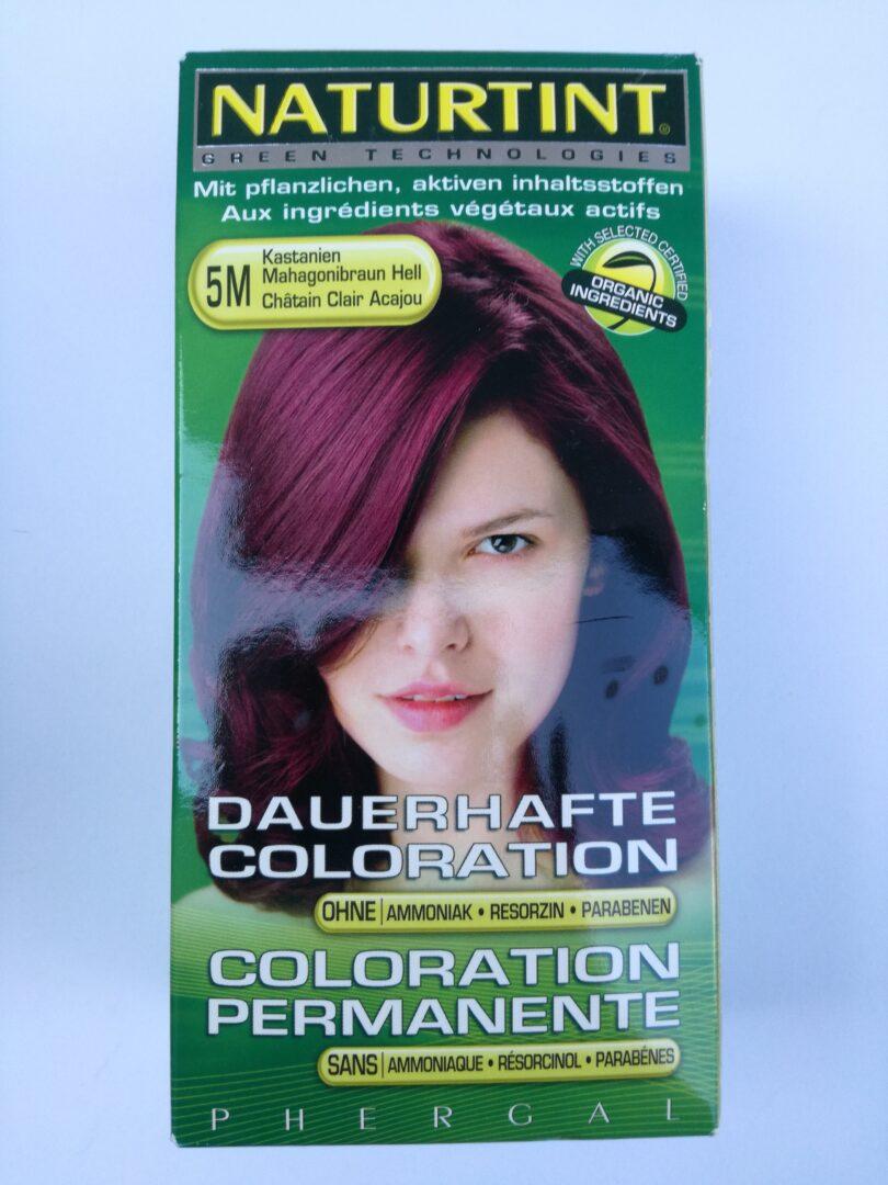Coloration cheveux châtain clair acajou 5M