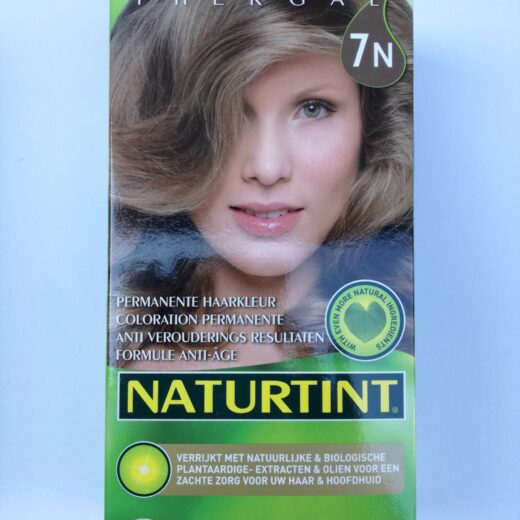 Coloration cheveux blond noisette 7N