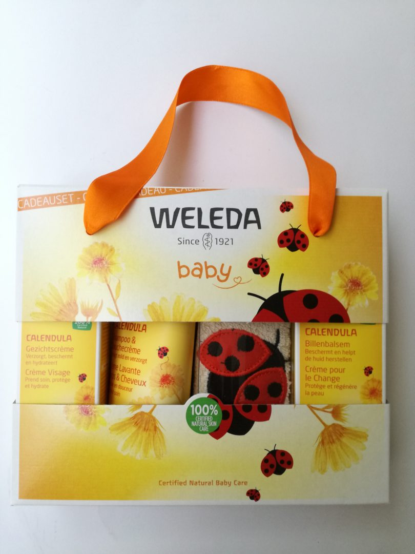 Coffret cadeau soins bébé