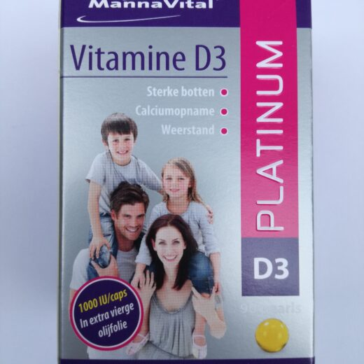 Vitamine D3 parel