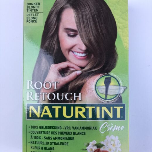 Root retouch donker blond