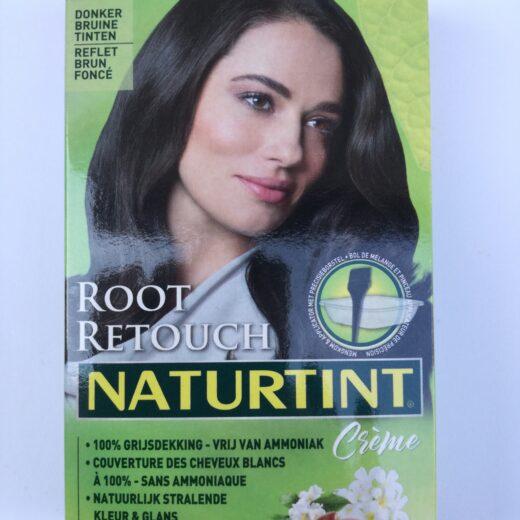 Root retouch donker bruin