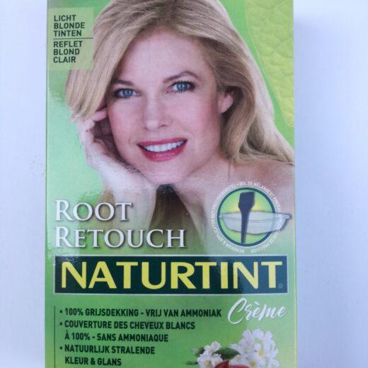 Root retouch licht blond