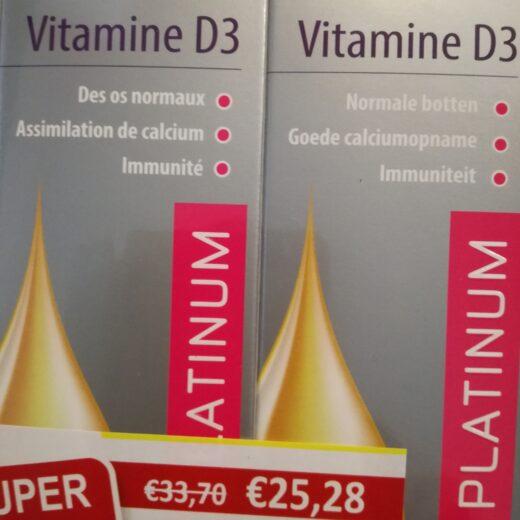 Vitamine D3 duo