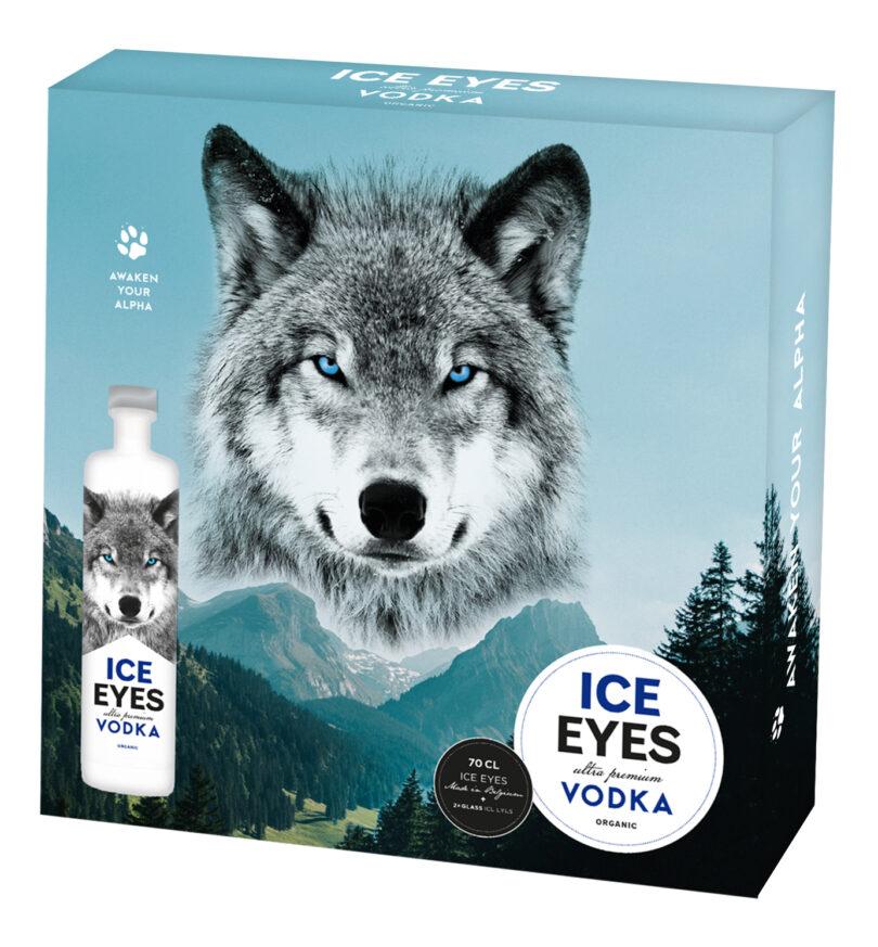 Ice eyes vodka giftbox