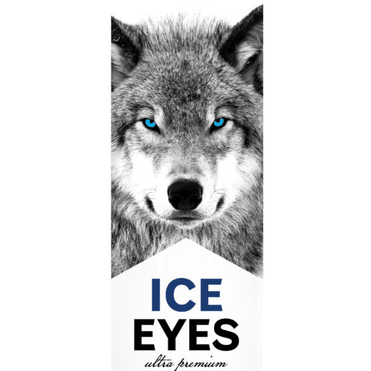 Ice eyes vodka