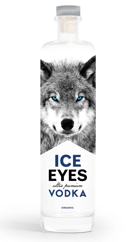 Ice eyes vodka