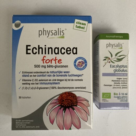 Echinacea + eucalyptus